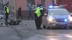 Potrącenie motorowerzysty na ul. Kościuszki. Mężczyzna trafił do…