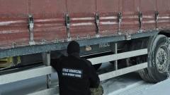 Naczepa o wartości 22 tys. zł zatrzymana na granicy w Grzechotkach