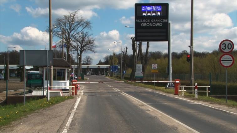 Uwaga! Utrudnienia na przejściu granicznym w Gronowie