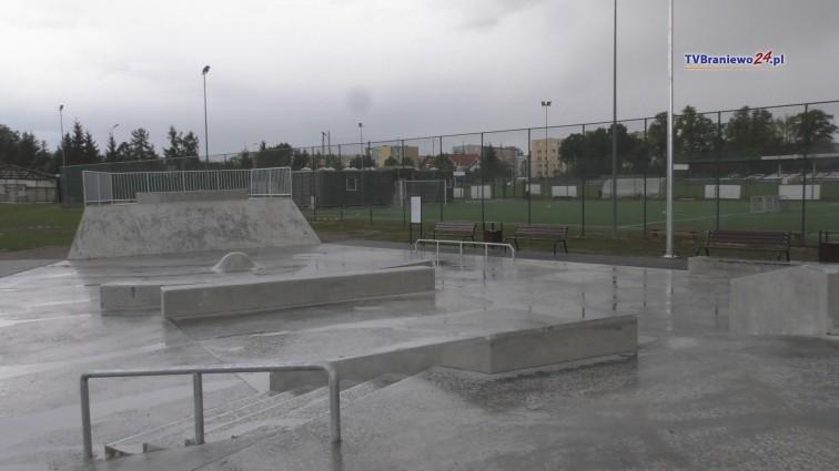 Braniewski skatepark gotowy. W sobotę oficjalne otwarcie