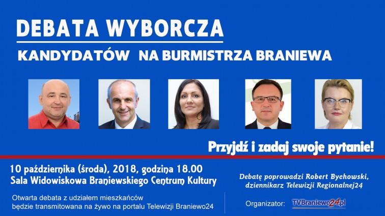 Wojciech Penkalski zmienił zdanie. Weźmie udział w jutrzejszej debacie