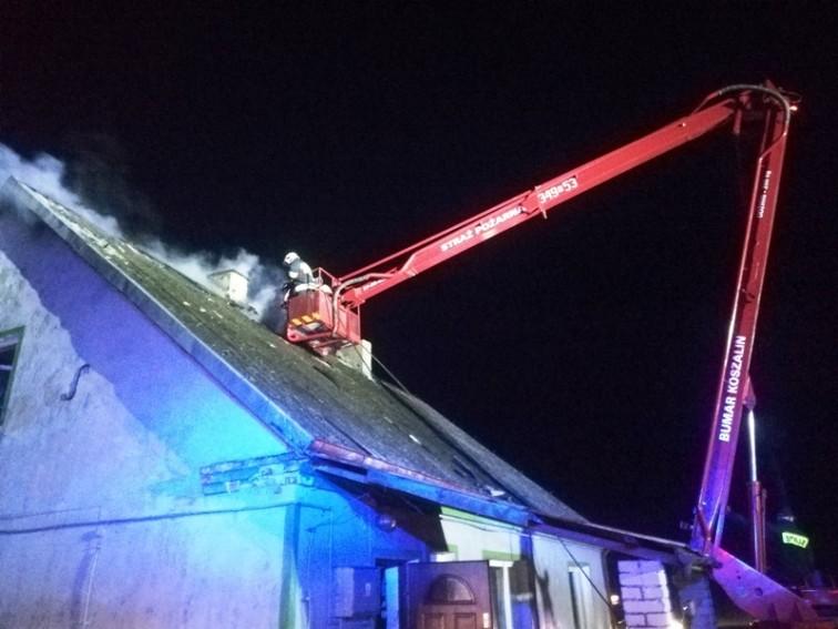 Pożar w Żelaznej Górze. Palił się dom