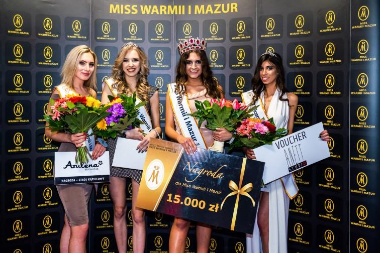 Karolina Wasilewska z Morąga zdobyła koronę Miss Warmii i Mazur