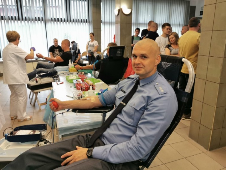 Oddali krew dla Lenki