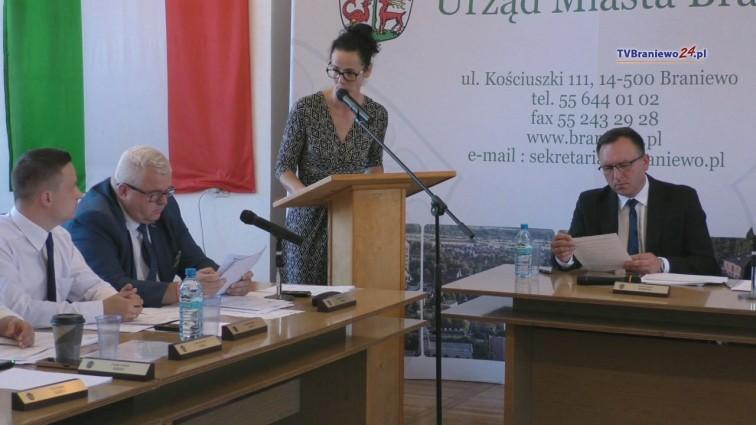 X sesja Rady Miejskiej w Braniewie