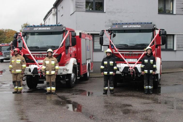 Nowe pojazdy pożarnicze trafiły do dwóch jednostek OSP