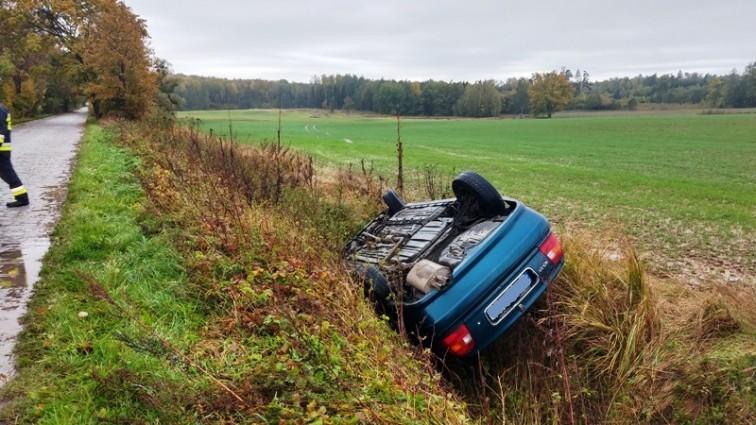 Pijany kierowca udawał pasażera