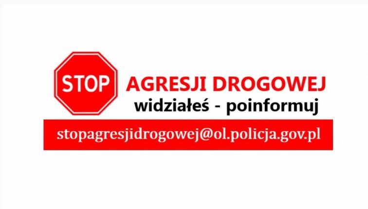Stop Agresji Drogowej, wyślij film z wideorejestratora na skrzynkę policji