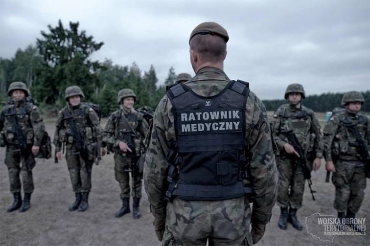 Żołnierze WOT w gotowości