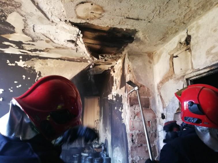 Pożar w bloku przy ul. Matejki. Potrzebna pomoc dla pogorzelców