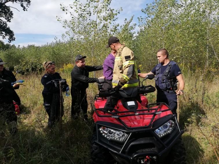 68-latek poszedł na grzyby i zgubił się w lesie
