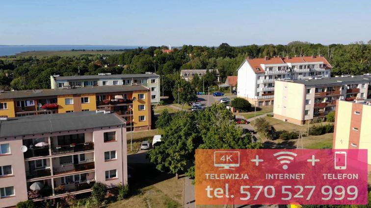 Frombork: Internet światłowodowy na Osiedlu Słonecznym