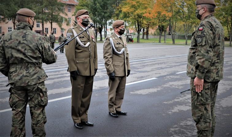 Zmiana dowódcy 43. Batalionu Lekkiej Piechoty w Braniewie