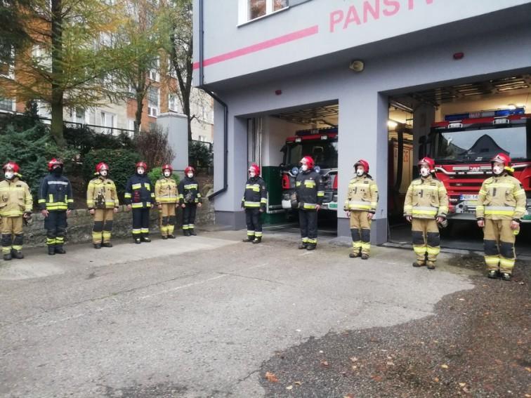 Braniewscy strażacy uczcili 102. rocznicę odzyskania niepodległości