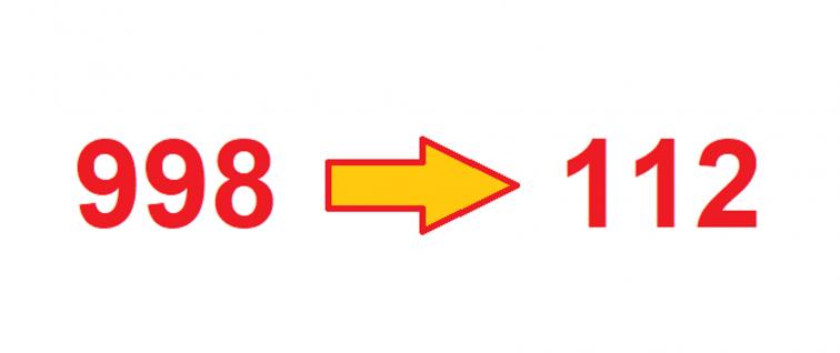 Przełączenie numeru alarmowego 998 do Centrum Powiadamiania Ratunkowego