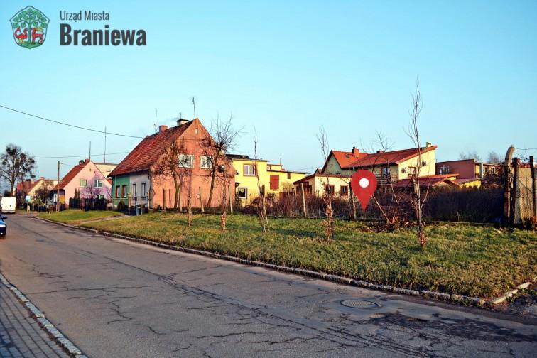 Ogłoszenie o przetargu na sprzedaż nieruchomości gruntowych przy ul. Wileńskiej w Braniewie