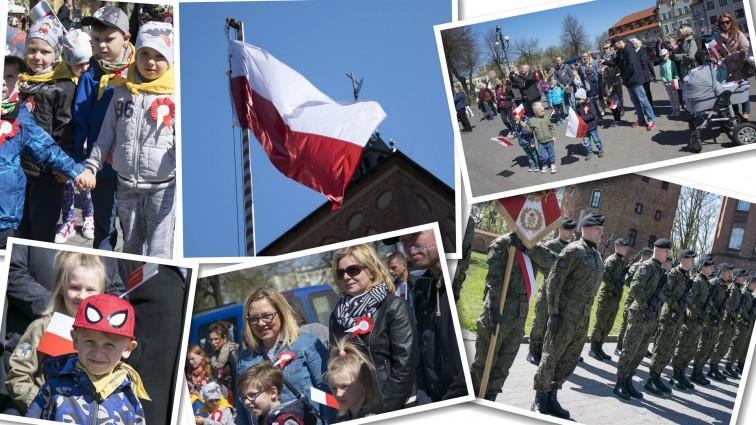 Biało-czerwona na maszt! Obchody Dnia Flagi w Braniewie