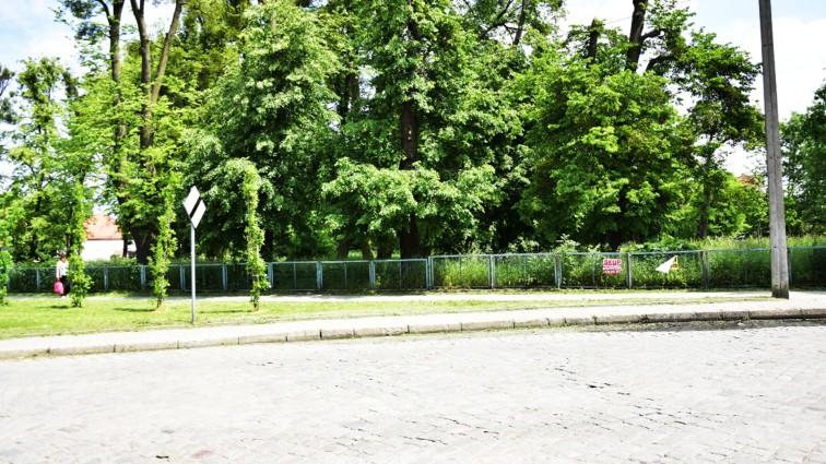 Park przy ul. Sikorskiego na sprzedaż