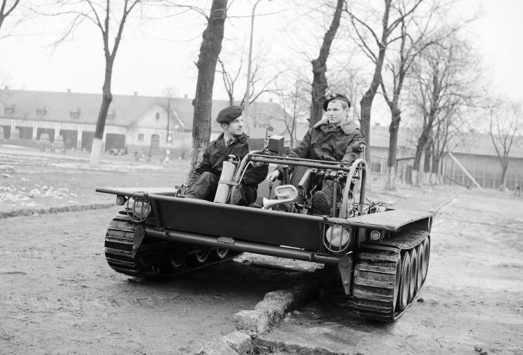 Budują replikę trenażera czołgowego, który był produkowany w Braniewie