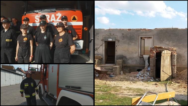 Strażacy ochotnicy organizują zbiórkę rzeczową. Jadą do Sośna pomagać poszkodowanym w nawałnicach
