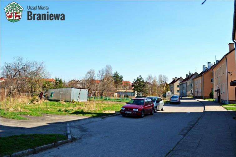 Ogłoszenie o przetargu na sprzedaż nieruchomości gruntowych przy ul.Mielczarskiego w Braniewie