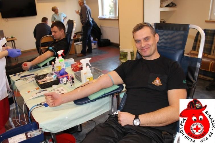 Zbiórka krwi – braniewscy strażacy zapraszają do udziału w akcji