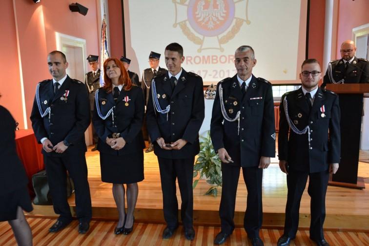 Strażacy z OSP we Fromborku świętowali jubileusz 70-lecia powstania jednostki