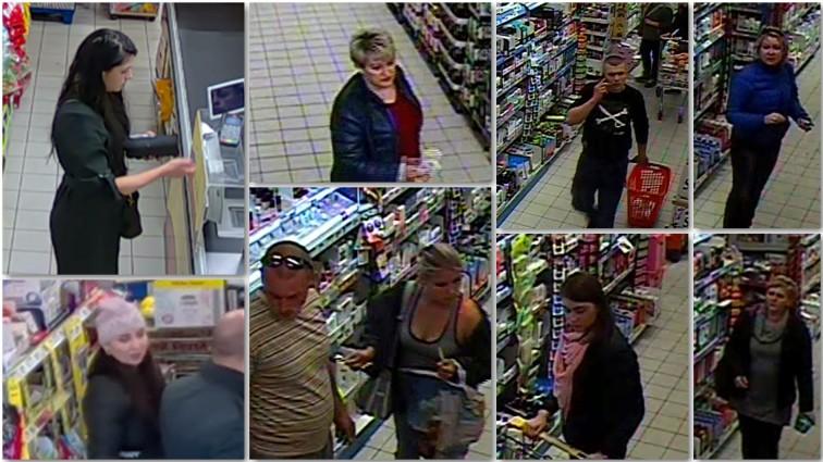 Kradli w braniewskich sklepach. Rozpoznajesz ich?