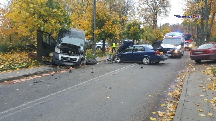 Zdarzenie drogowe we Fromborku. 23-latek stracił prawo jazdy [Aktualizacja]