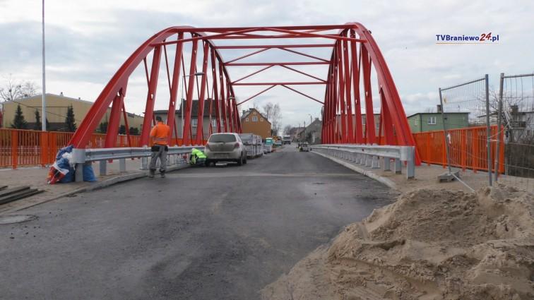 Nowy most w Braniewie coraz bliżej otwarcia