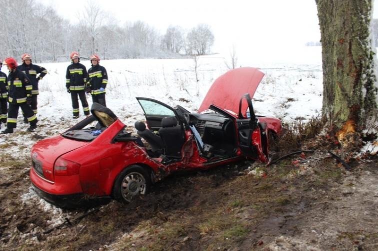 Gmina Lelkowo: Zderzenie dwóch pojazdów