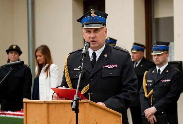 Komendant braniewskiej straży pożarnej odchodzi ze służby