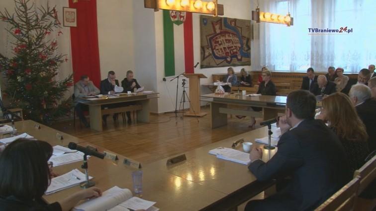 XL sesja Rady Miejskiej w Braniewie
