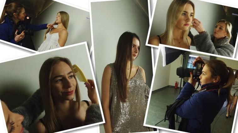 Kandydatki do tytułu Miss Ziemi Braniewskiej przed obiektywem