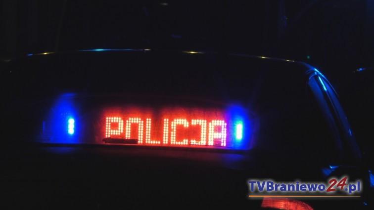 Pijany kierowca nissana spowodował kolizję