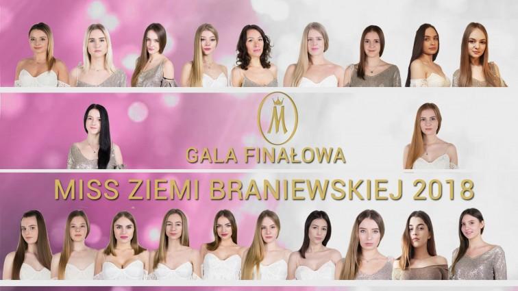 Dziś poznamy Miss Ziemi Braniewskiej 2018. Oglądajcie na żywo