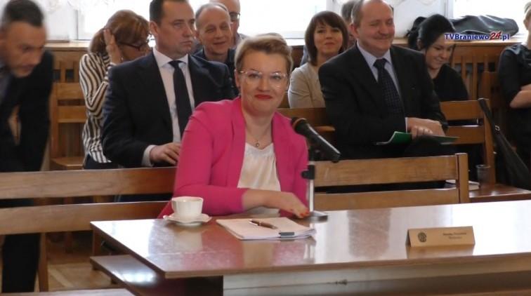 Burmistrz Trzcińska z absolutorium