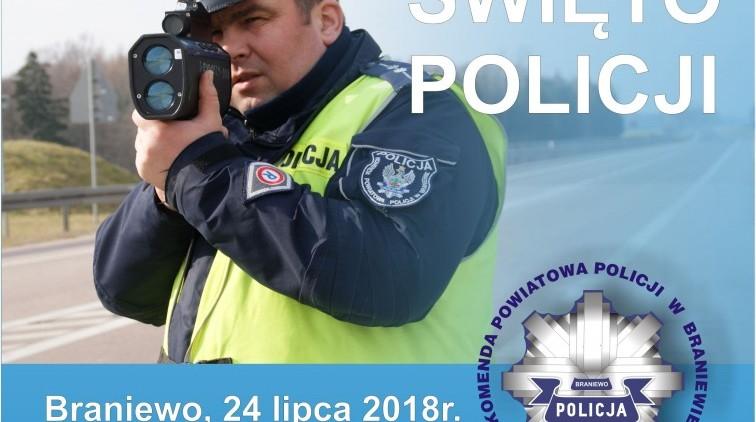 Policjanci z Braniewa zapraszają na swoje święto
