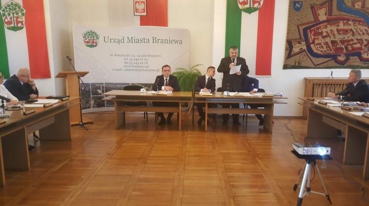 III sesja Rady Miejskiej w Braniewie [na żywo]