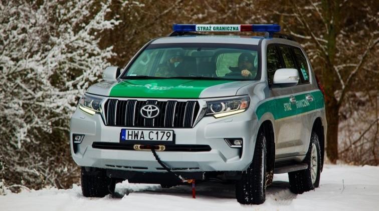 Funkcjonariusze Straży Granicznej odnaleźli zaginionego mężczyznę