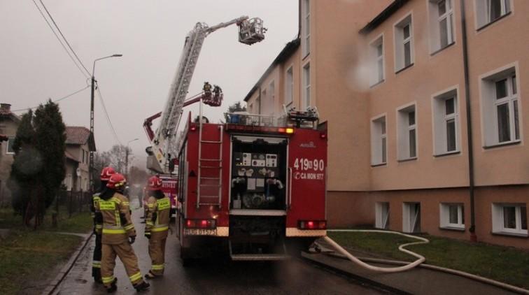 Strażacy ćwiczyli w Żelaznej Górze