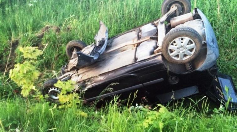 Pijany bez prawa jazdy spowodował wypadek