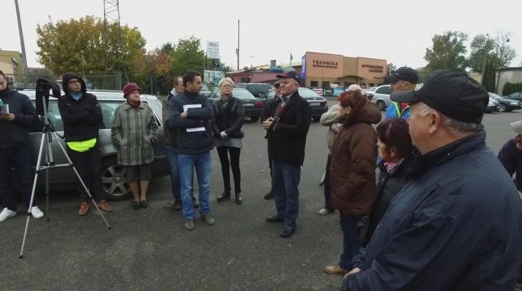 Burmistrz Trzcińska spotkała się z mieszkańcami na ul. Morskiej