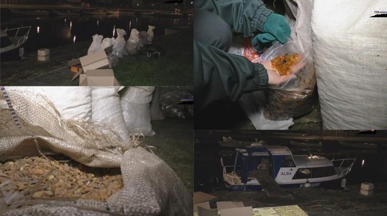 Frombork: Rekordowy przemyt bursztynu