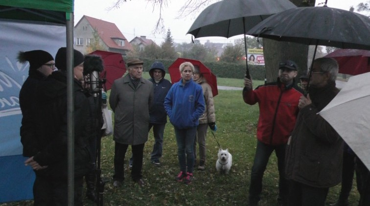 Burmistrz Braniewa spotkała się z mieszkańcami na ul. Elbląskiej