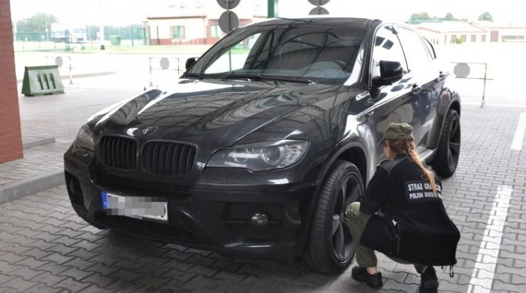 BMW X6 zatrzymane na granicy