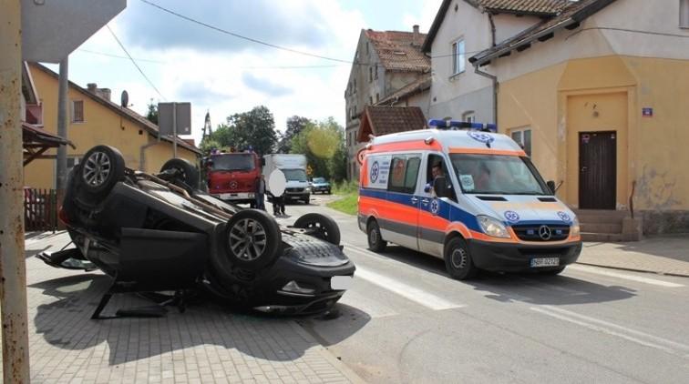 Lelkowo: Zderzenie na skrzyżowaniu