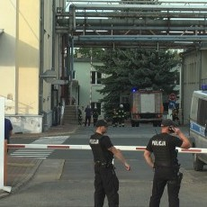 Groźny wyciek amoniaku w browarze w Braniewie