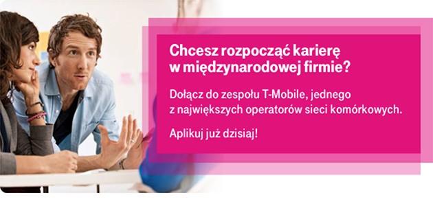 Konsultant ds. sprzedaży w salonie T- Mobile