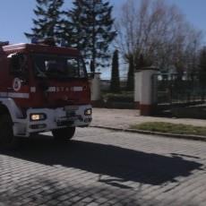 Groźny pożar na al. Wojska Polskiego w Braniewie